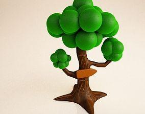 Tree Cartoon 3D model
