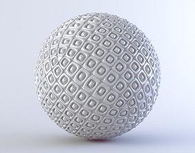 3D model abstract ball