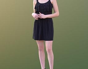 3D model Laura 10444 - Standing Elegant Woman