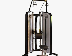 Gym FUNCTIONAL TRAINER 3D