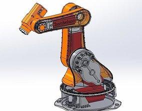 3D animated robot piu