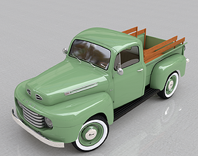 3D FOR-D F-1 PICKUP 1948