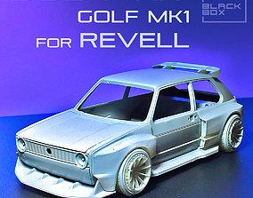 GOLF 1 BODYKIT For REVELL 1-24 3D print model