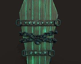 powerful coffin 3D asset