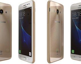 Samsung Galaxy J3 Pro White 3D