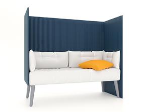 3D model sofa for office
