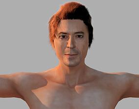 Robert Downey Jr 3D model