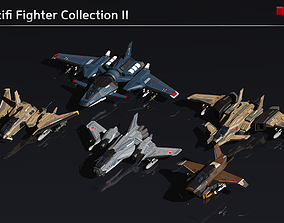 Scifi Fighter Collection II 3D