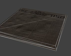 3D asset Newspaper