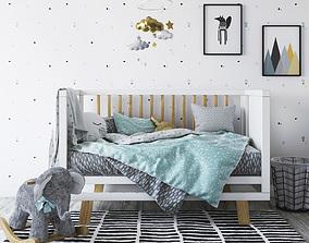 3D Adairs Baby BonBon nursery bedroom set
