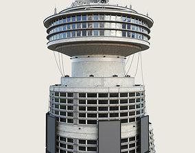 3D asset Building Skyscraper City Town Downtown Office 2