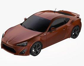 3D asset 2012 Toyota GT86