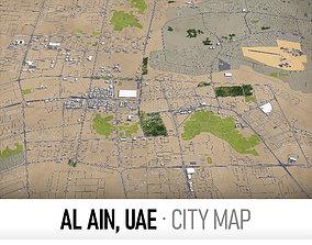 Al Ain - UAE - city and surroundings 3D model low-poly