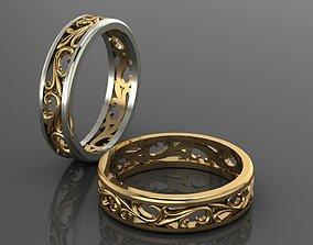 3D printable model Wedding ring gold
