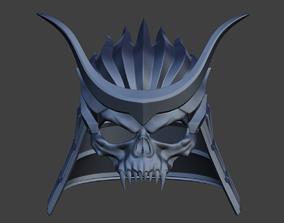 Emperor Shao Kahn classic samurai 3D printable model 4