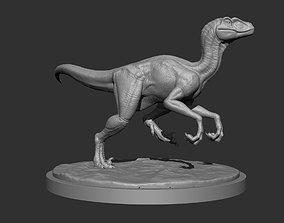 3D Raptor for Printing Pose 02 animal