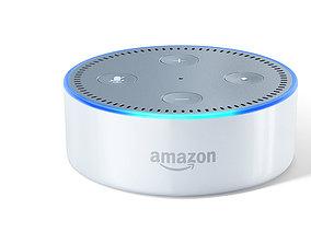 Amazon Echo Dot 3D print model