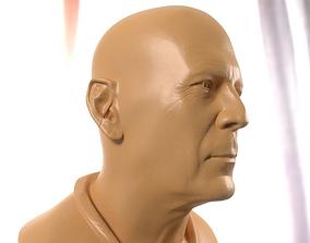 Bruce Willis printable bust