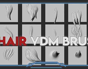Hair BrusH 3D asset VR / AR ready