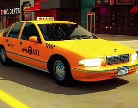 3D model New York Taxi Cab