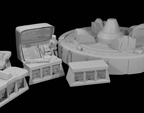 Armoury Room Pack furniture 3D printable model