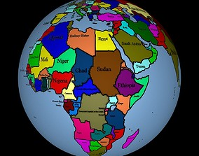 Earth 3D earth