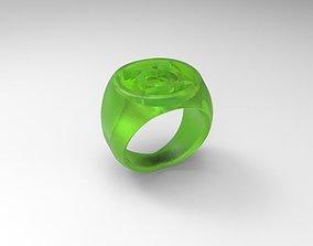Grren lantern Ring 3D print model