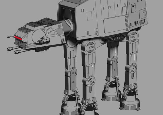 AT-AT - Star Wars - Fan Art