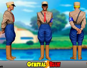 General Blue - Dragon Ball 3D