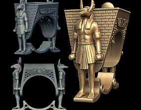 3D print model Egypt ring