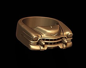 car ring 4 3D print model