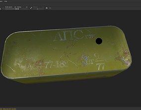 3D asset Ammo zinc