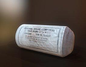 3D model PBR bandage
