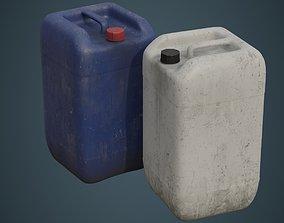 Fuel Can 7B 3D asset