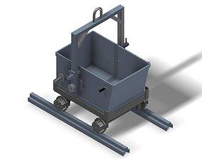 3D model Rail steel carrying case