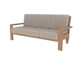 seating sofa model 3d pbr