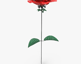 Mechanical Rose 3D