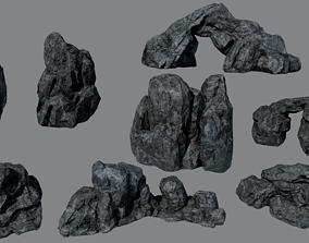 3D model Rock Pack vol 8