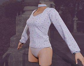 3D Formal women shirt