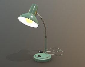 3D asset Old Soviet Lamp