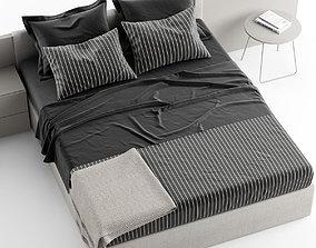 NOVAMOBILI LINE BED 3D