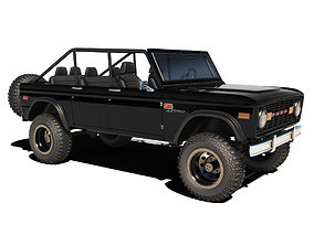1976 Ford Bronco 3D