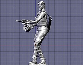 Sarah Connor Terminator dark fate 3D printable model
