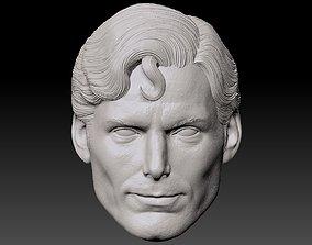 3D printable model Christopher Reeve Superman head
