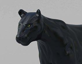 3D Black Panther panther