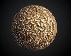 3D model Bullets Seamless PBR Texture