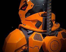 3D File-Deathstroke Black-Ops Armor