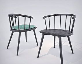 3D model Billiani W Chair