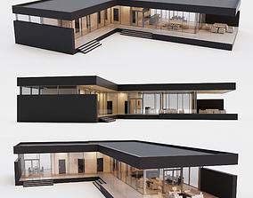 Villa house 2 3D asset