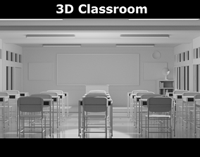 3D model Classroom other